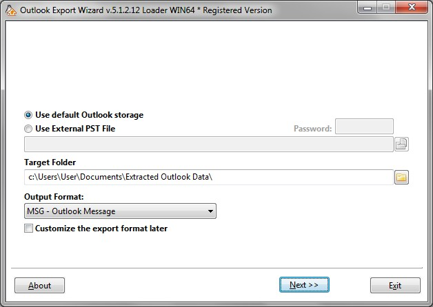 How to export and backup outlook data