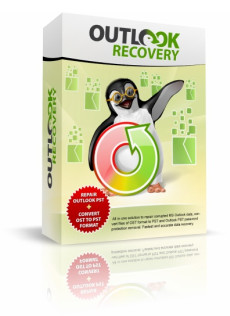 Outlook Recovery Wizard full screenshot