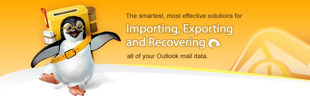 The smartest, most effective solutions for Importing, Exporting and Recovering all of your Outlook mail data. PST Repair, Outlook Import, Export and Recovery.
